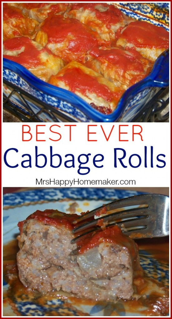 BEST EVER Cabbage Rolls
