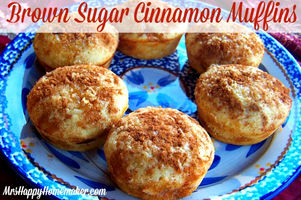 Brown Sugar Cinnamon Muffins