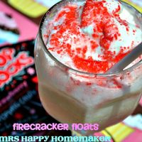Firecracker Floats with Pop Rocks