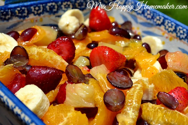 Regina's Grandmother's Fruit Salad