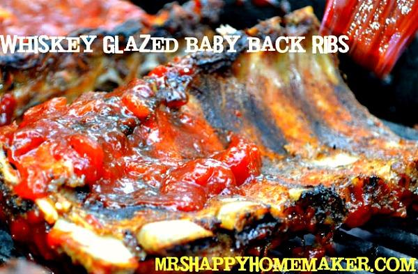 Whiskey Glazed Baby Back Ribs