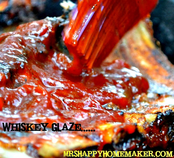 Whiskey Glazed Baby Back Ribs - Mrs Happy Homemaker