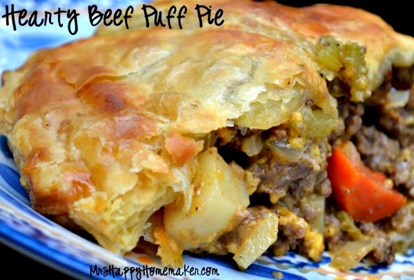 Beef Puff Pie