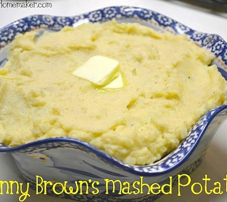 This is my Great Grandmother's recipe for Mashed Potatoes & they're absolutely delicious & SO EASY! A perfect old fashioned Southern heritage recipe!