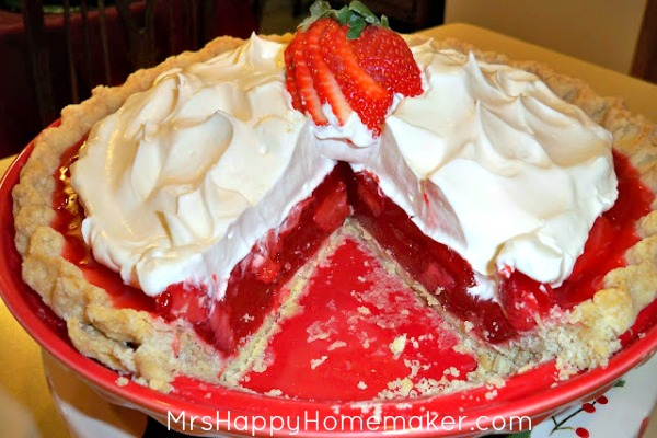 Regina's Famous Strawberry Pie