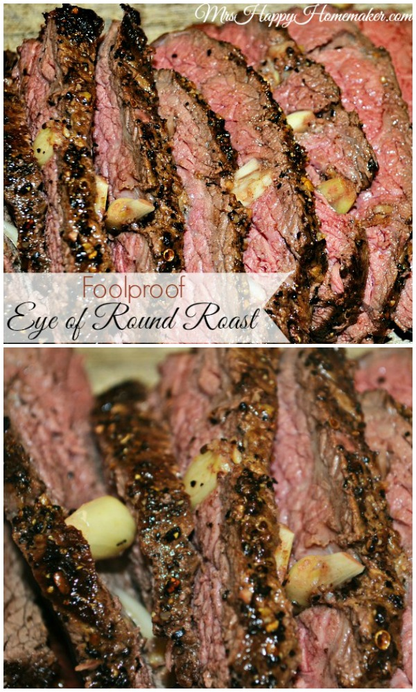 Foolproof Eye of Round Roast