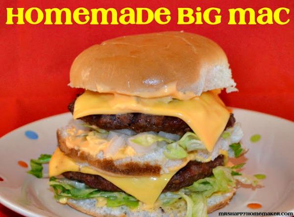Homemade Big Mac