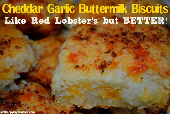 Cheddar Garlic Buttermilk Biscuits – Like Red Lobster's but BETTER ...