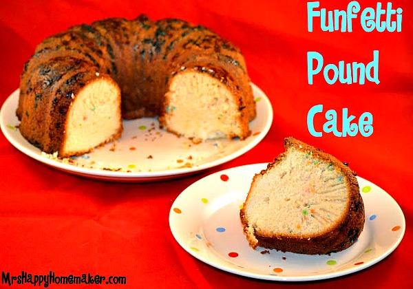 Funfetti Pound Cake