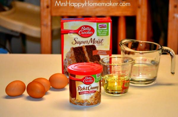 Flashback Friday German Chocolate Pound Cake Mrs Happy Homemaker