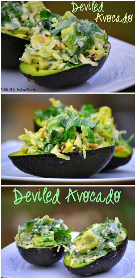 Deviled Avocado