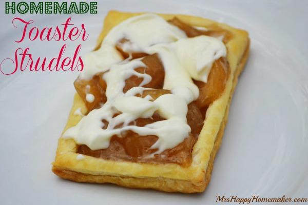Homemade Toaster Strudels – Mrs Happy Homemaker