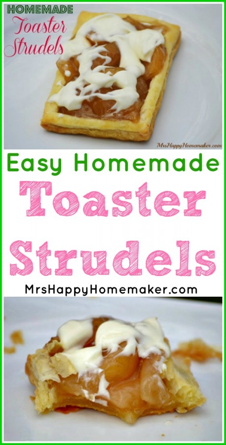 Easy Homemade Toaster Strudels