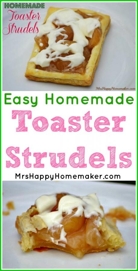 Easy Homemade Toaster Strudels