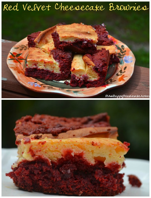 Red Velvet meets cheesecake meets brownies. How could this not be good?