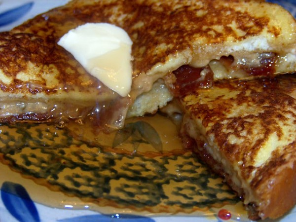Maple-, Pecan-, And Bacon-Stuffed French Toast Recipe ...