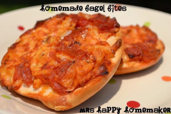Homemade Bagel Bites Freezer Cooking Mrs Happy Homemaker