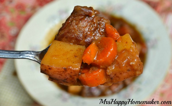 Savory beef stew recipe easy