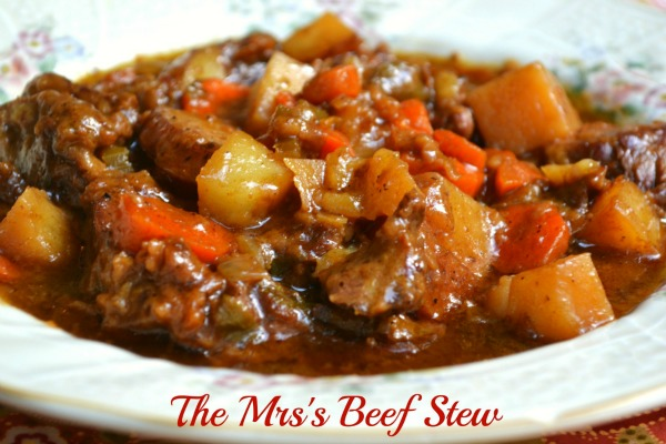 Best Ever Beef Stew Mrs Happy Homemaker