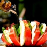 Tomato Caprese Salad {All Fanned Out}