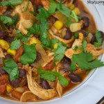 Crockpot Taco Chicken Chili