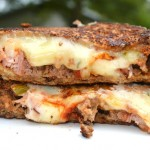 Leftover Meatloaf Grilled Cheese Sandwiches