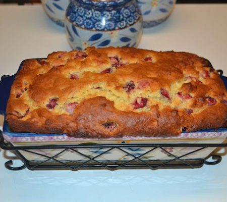 Strawberries and Cream Bread