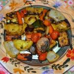 Balsamic Veggie Non-Kabobs