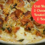 Crab Macaroni & Cheese with Roasted Garlic & Bacon