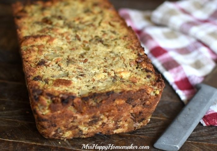 Dressing Loaf Bread - all the flavors of your favorite stuffing but baked into a bread.