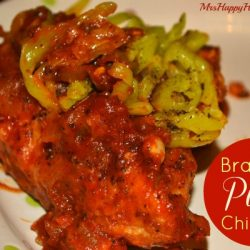 Braised pizza chicken