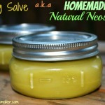 DIY Healing Salve aka Homemade Natural Neosporin