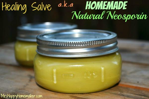 Healing Boo-Boo Salve - aka Homemade Natural Neosporin