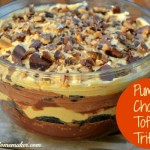 Pumpkin Chocolate Toffee Trifle