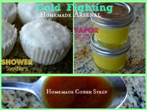 Cold Fighting Homemade Arsenal!