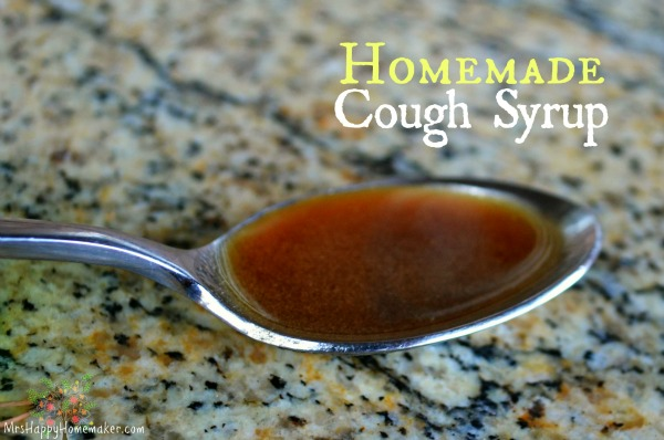 Homemade Cough Syrup - Just 3 Simple Natural Ingredients that you probably already have in your
