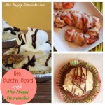Mini Reese's Peanut Butter Pies, Candy Cane Cinnamon Rolls, & Chocolate Bourbon Cupcakes with Butter Pecan Frosting