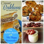 Quick Crescent Baklava, Bacon Stuffed Clams, & Red Velvet White Chocolate Chip Cookies