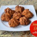 Easy 4 Ingredient Sausage Balls with a Kick