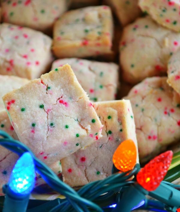 Shortbread Bites Mrs Happy Homemaker