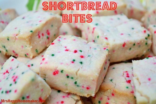 Shortbread Cookies Christmas.Shortbread Bites