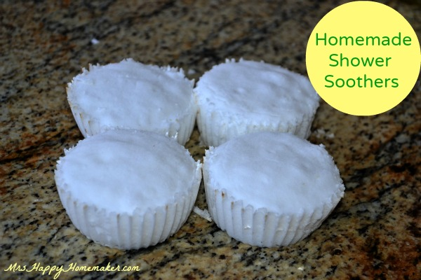 Homemade Shower Soothers - Put them in the bottom of a hot shower when you have the stuffies.