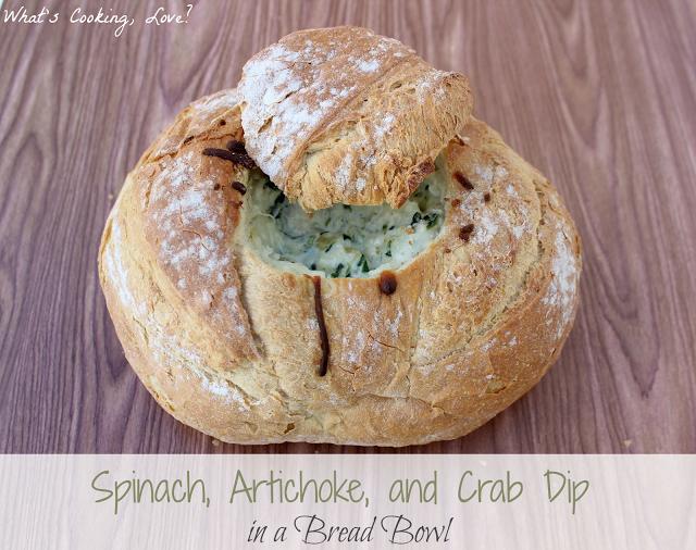 Spinach Artichoke & Crab Dip