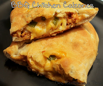 Barbecue Chicken Calzones