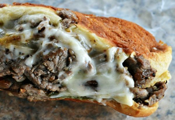 My Favorite Philly Cheesesteak Sandwich