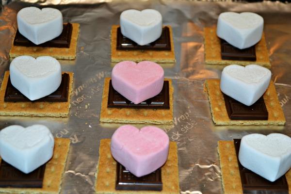 Valentines S'mores