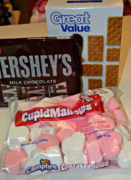 Valentines S'mores, just 3 ingredients