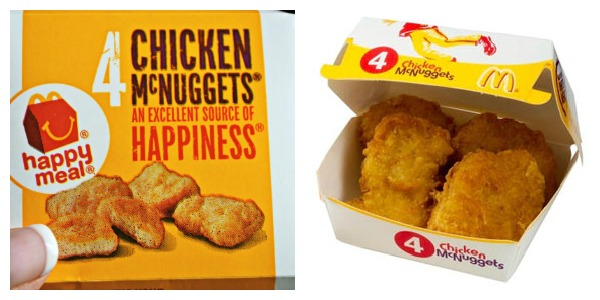 My McNugget Experiement - the chicken evaporated!