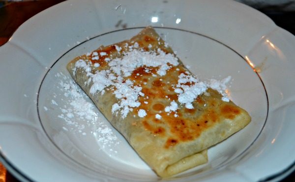 Easy 5 Minute Chocolate Burrito Sundae