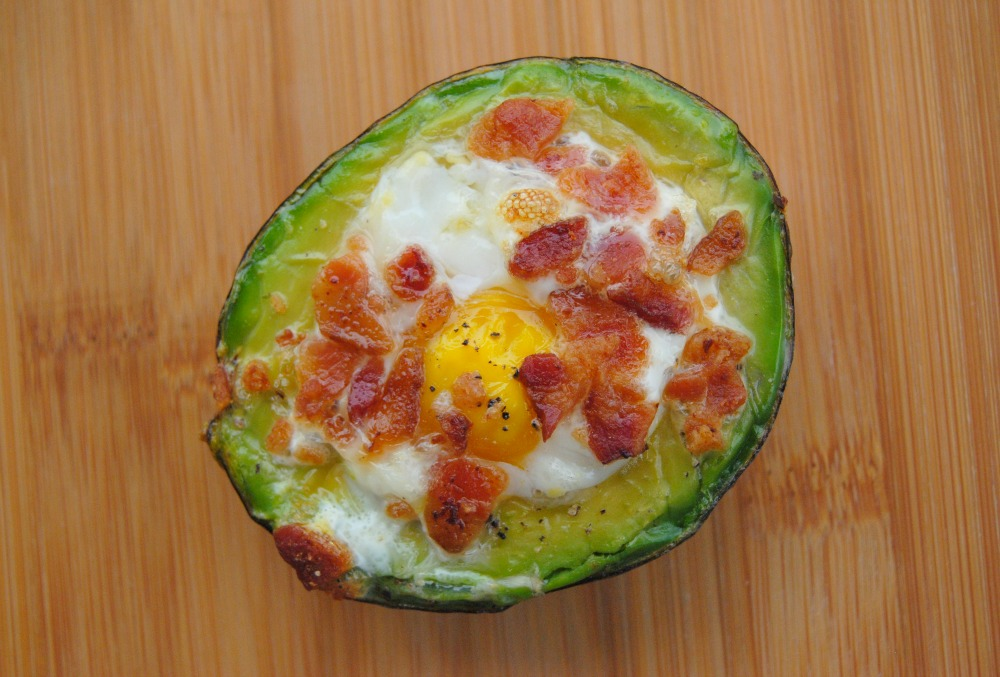 Avocado Bacon & Eggs